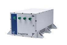 Centrale d'acquisition 40Hz FTMesures pour capteurs fibres optiques réseaux de Bragg